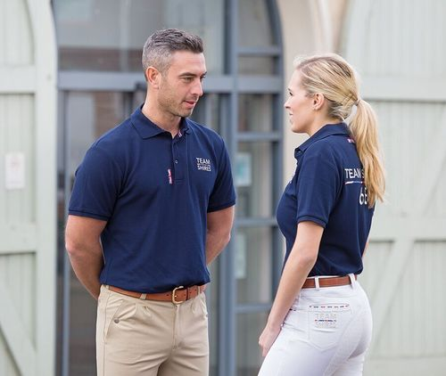Shires Team Polo Shirt - Men